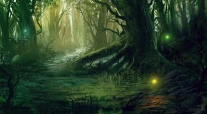 Wickroot Forest by chi-u