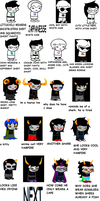 HOMESTUCK ACCORDING TO MY SISTER by Slitherhen