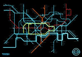 Tron - Tube Map by iamclu