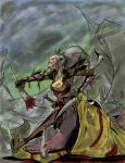 Dragon Age  Comic Ink Test coloured by ThunderCharger1234