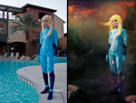 Zero Suit Samus Before + After 2 by hugyucom