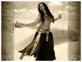 Temple Dancer by Oscura
