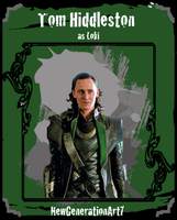Tom Hiddleston as Loki CTC by NewGenerationArt7