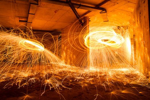 spinning the sparks by neronin