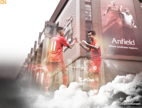 Roberto Firmino   Philippe Coutinho by EgzonNimani