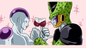 Perfect Cell x Freeza by TechnoRanma