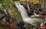 October Waterfall by Pajunen
