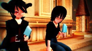 MMD Bros by mrcoldflame901