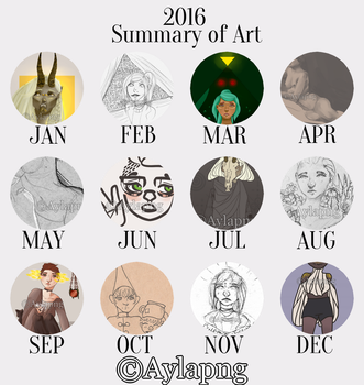 Summary of Art 2016 by Aylapng