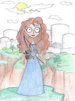 Merida The Brave by LucieKJ