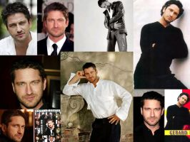 Gerard Butler by DarkAdalai