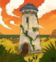 Stone Tower by introvert13
