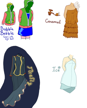 Themed Dresses by Sheelos-lover