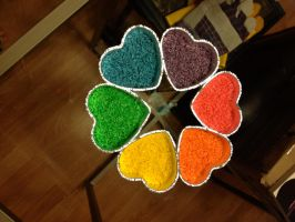Dry Rainbow Rice by Arachnoid