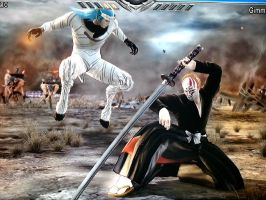 Ichigo vs Grimmjow (Soul Calibur V) by PlAbOnDRAGON