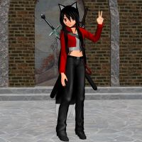 MMD model review: Remiko by Trackdancer