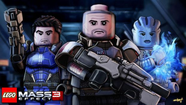 Lego Hypothetical: Mass Effect by Either-Art