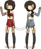 [ hurrdurr: circus twins ] by sockjuice