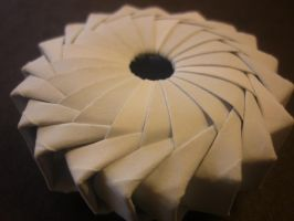 Origami Sundial/Woven Wreath by musicmixer112