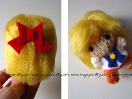 Sailor Venus Amigurumi by AnyaZoe
