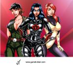 GI Joe Ladies by Mythical-Mommy