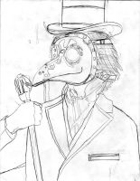Plague Doctor WIP by Zed-of-Venice