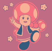 Toadette Limited Pallet by pocket-arsenal