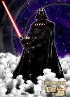 Darth Vader in colors by Murd-Ed