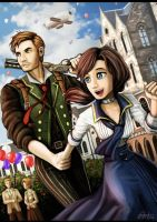 Bioshock Infinite by Fandias