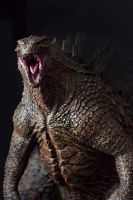 1/100th Scale Godzilla 2014 Statue by FritoFrito