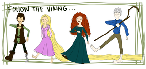 Follow The Viking by Leneeh