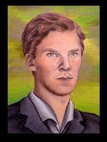 Benedict Cumberbatch by Tiofrean