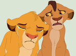 Sad lions base by ChubNarwhalBases
