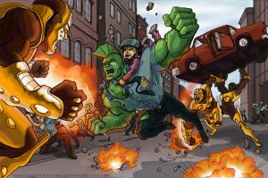Savage Dragon by genekelly