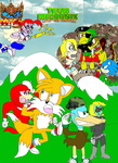 Team Mechanix: Tails' New Adventure Part 1 Issue by ToonKing2