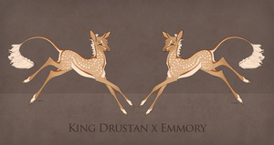 Drustan x Emmory Foal Design by TigressDesign