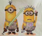 Minions by JazIllustrations