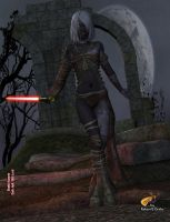 Shakti Hunzrin Dark Jedi S4 by intrepid1708