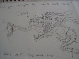 Jerico's True Form by SamColwell