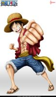 Monkey D. Luffy by DEIVISCC