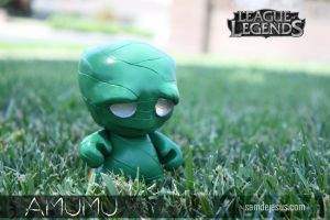 amumu, the sad mummy by samdejesus