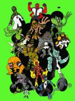Ben 10 Aliens by kjmarch