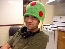 Metroid Hat by shaymieshats