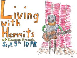 Living with Hermits Show by toastman18