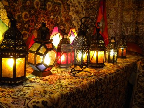 Moroccan Lanterns by RambleWriting