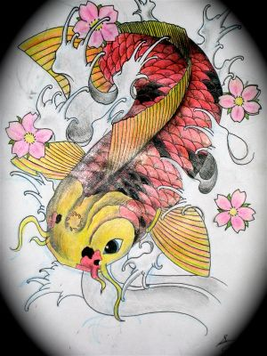 Japanese Tattoo Designs With Image Japanese Koi Fish Tattoo