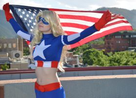 Introducing Kira as Captain America by Fathergatto