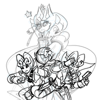 'Launch yourselves with pride'! wip by SonicS29