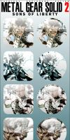 Metal Gear Solid 2 Icons by firba1