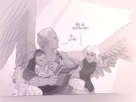 Cimos, the super dad. by ElsaKroese